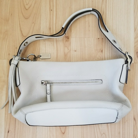 26265b5f8a Coach Bags | Vintage Off White Leather Bag | Poshmark